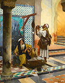 At The Well By Rudolf Ernst