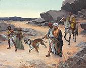 Return from The Tiger Hunt By Rudolf Ernst