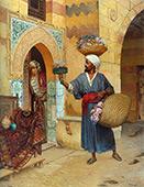 The Flower Merchant By Rudolf Ernst