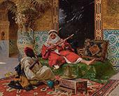 The Musicians By Rudolf Ernst
