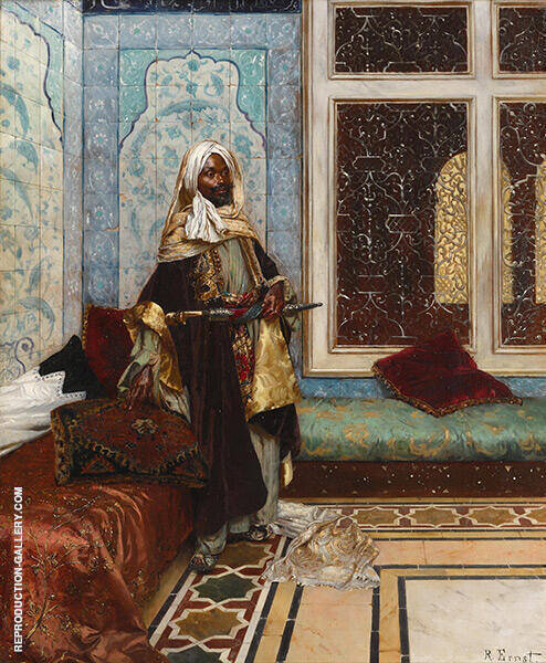 The Palace Guard By Rudolf Ernst