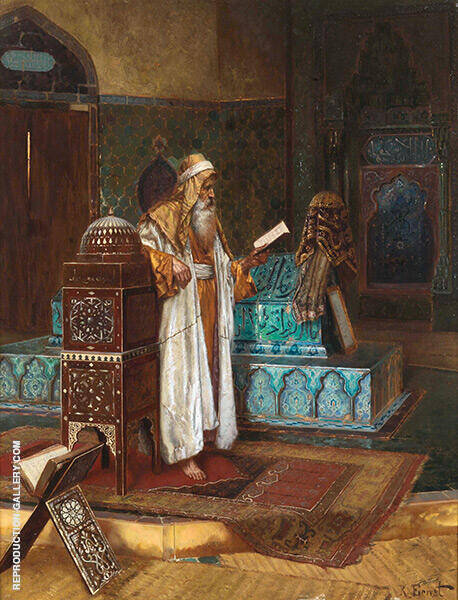 The Tomb of Sultan Mehmed By Rudolf Ernst