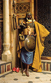 The Nubian Palace Guard By Ludwig Deutsch