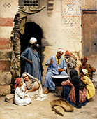 The Sahleb Vendor Cairo 1886 By Ludwig Deutsch