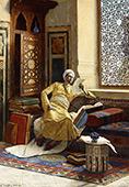 The Scholar 1895 By Ludwig Deutsch