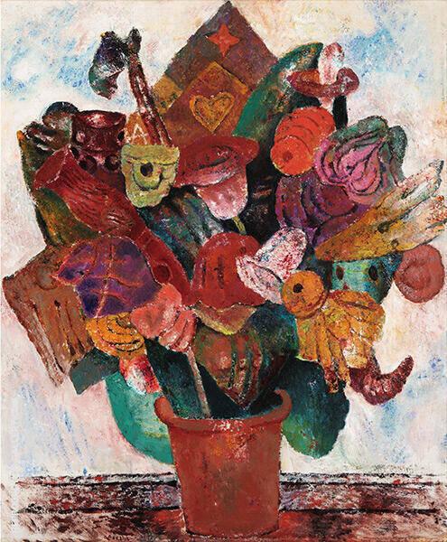 Flowers By Frits Van Den Berghe