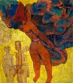 The Cruel Angel By Frits Van Den Berghe