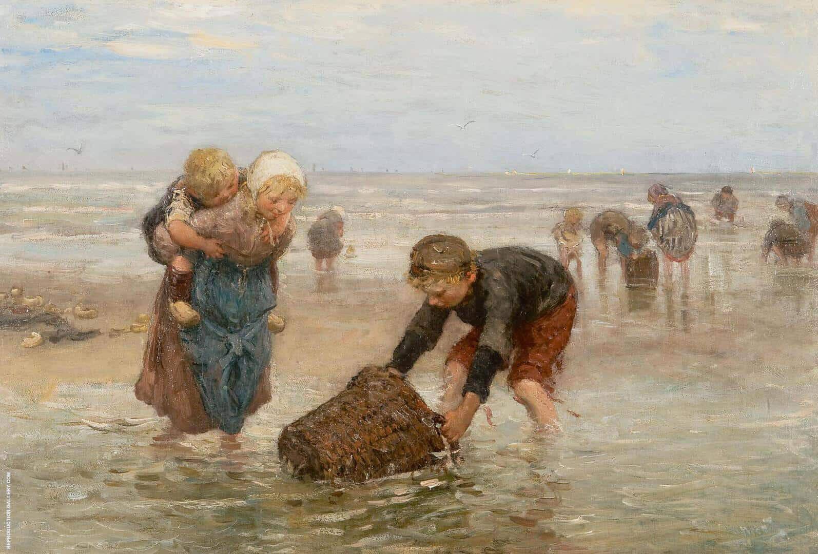 Shrimp Catch from Fishermen's Children By Bernardus Johannes Blommers