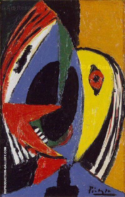 Buste de Femme 1936 By Pablo Picasso