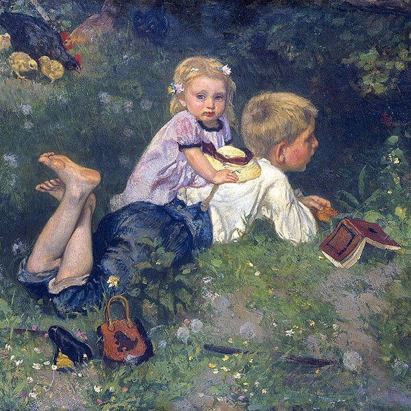Oil Painting Reproductions of August Allebe