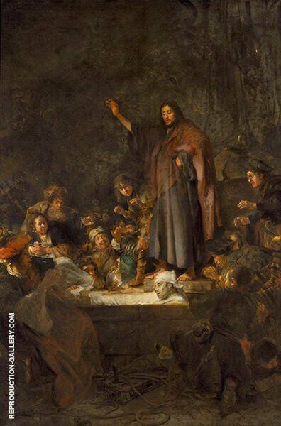 The Raising of Lazarus By Carel Fabritius