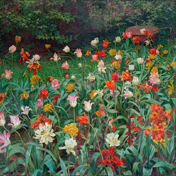 Oil Painting Reproductions of Maximillian Lenz