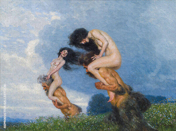 Summer Lust 1906 By Maximillian Lenz | Oil Painting Replica On Canvas