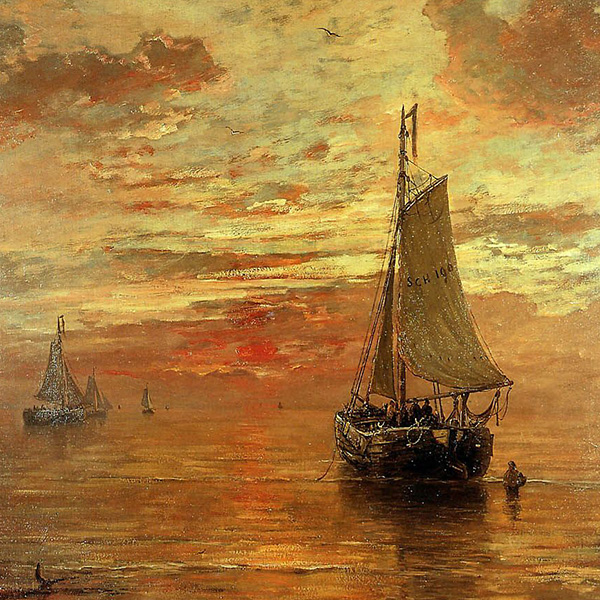 Oil Painting Reproductions of Hendrik Willem Mesdag