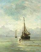 Calm Sea 1900 By Hendrik Willem Mesdag