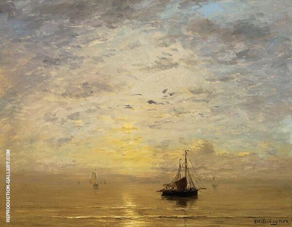 Marine By Hendrik Willem Mesdag