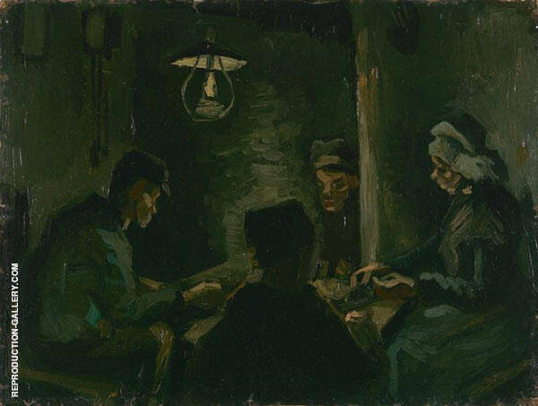 Study for The Potato Eaters 1885 By Vincent van Gogh