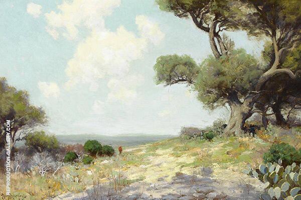 In The Hills Southwest Texas 1912 By Julian Onderdonk