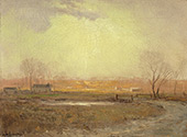 The Salt Meadows 1909 By Julian Onderdonk