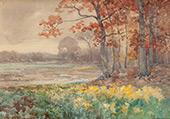 Landscape c1908 By Julian Onderdonk