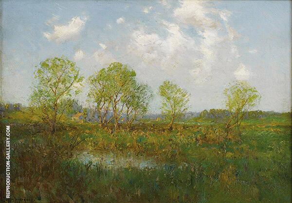 Late Afternoon 1909 By Julian Onderdonk