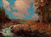 New York Landscape 1908 By Julian Onderdonk