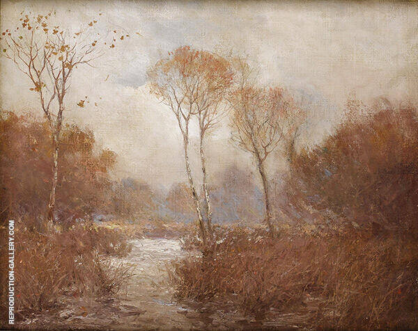 October Landscape By Julian Onderdonk