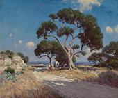 on The Old Blanco Road Southwest Texas 1911 By Julian Onderdonk