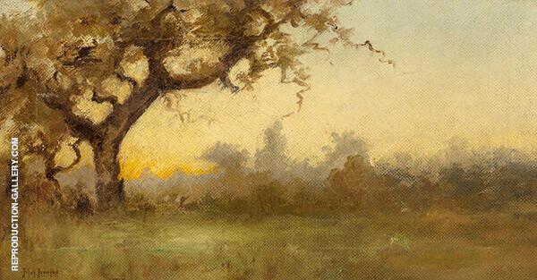 Yellow Sunset By Julian Onderdonk
