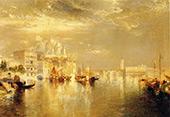 Venetian Scene 2 By Thomas Moran