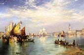 Venice By Thomas Moran