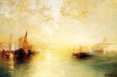Venice 2 By Thomas Moran