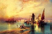 Venice 3 By Thomas Moran