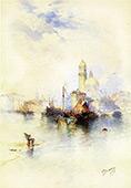 Venice 4 By Thomas Moran