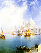 Venice 5 By Thomas Moran