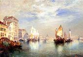 Venice 1905 By Thomas Moran