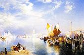 Venice Fishmarket By Thomas Moran