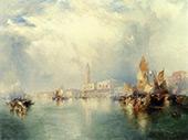 Venice Grand Canal By Thomas Moran