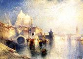 Venice Italy By Thomas Moran