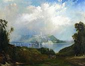 View of Fairmont Waterworks Philadelphia By Thomas Moran