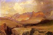 View of Yosemite By Thomas Moran