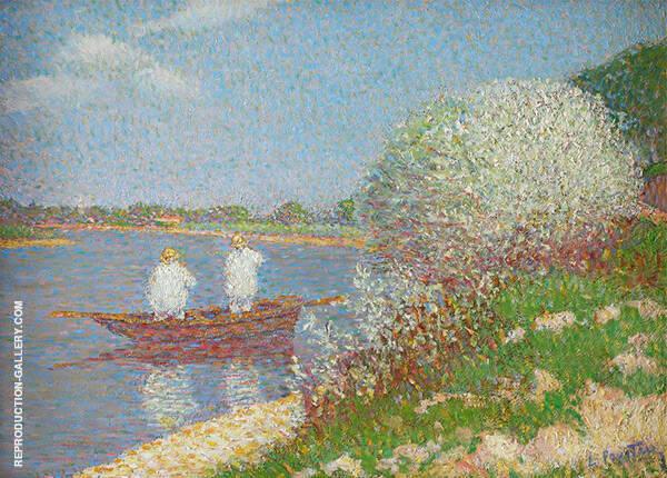 Oil Painting Reproductions of Leon Pourtau