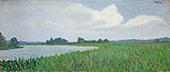 Landscape By Leon Pourtau