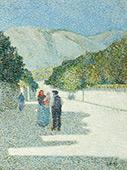 Landscape in Provence 1898 By Leon Pourtau