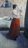 Marie Eulalie at her Toilet By Leon Pourtau