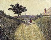 Rue de Paysage c1890 By Leon Pourtau