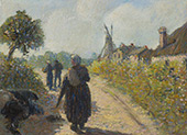 The Road to The Mill By Leon Pourtau