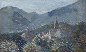Village du Bugey en Savoie 1894 By Leon Pourtau