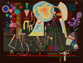 Tensions Calmees 1937 By Wassily Kandinsky