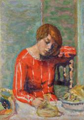 Le Corsage Raye (The Striped Bodice) 1922 By Pierre Bonnard